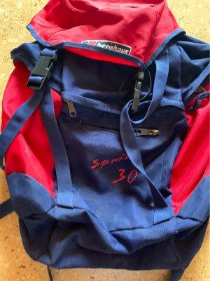 Berghaus Sac à dos bleu-rouge