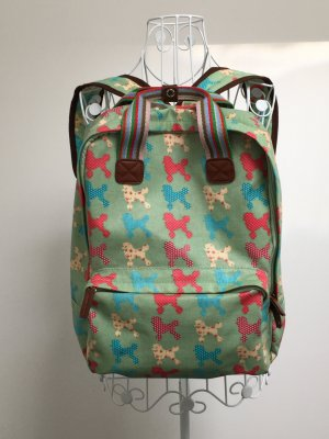 Kindergarden Backpack multicolored imitation leather