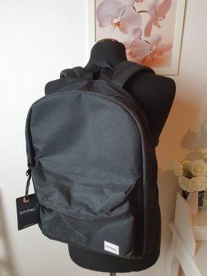 Rucksack Backpack mit Notebookfach Schwarz