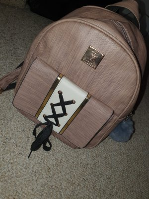 Backpack Trolley rose-gold-coloured