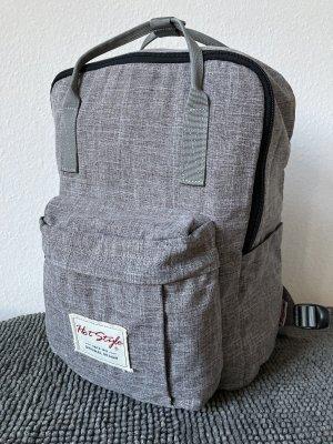 hot style Sac à dos pour ordinateur portable gris anthracite-gris clair