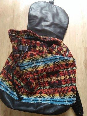 forever Mini sac à dos multicolore coton