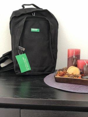 Benetton Mochila escolar negro