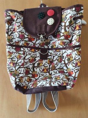Carrito de mochila marrón