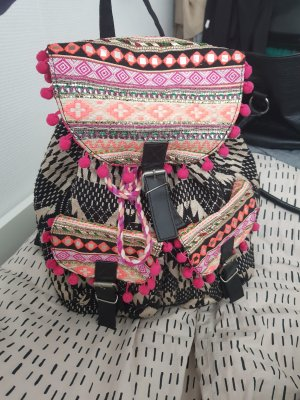 Primark Backpack Trolley black