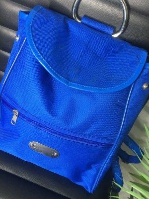 Carrito de mochila azul