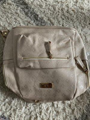 Plecak w kolorze białej wełny