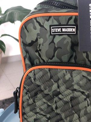 Steve Madden Sac à dos pour ordinateur portable kaki-orange