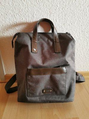 Zwei Backpack Trolley black brown