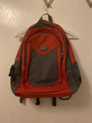 Trekking Backpack black-red