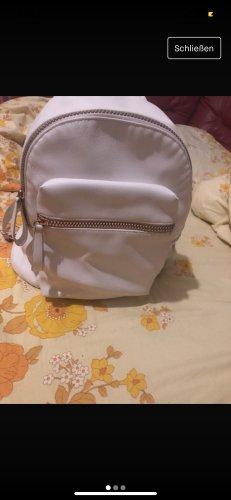 Mini sac à dos blanc