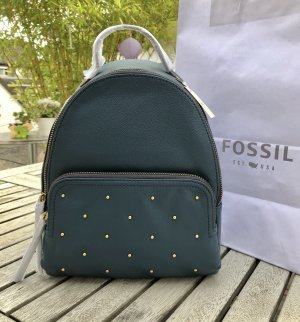 Fossil School Backpack petrol