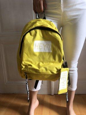School Backpack yellow