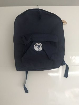 School Backpack blue
