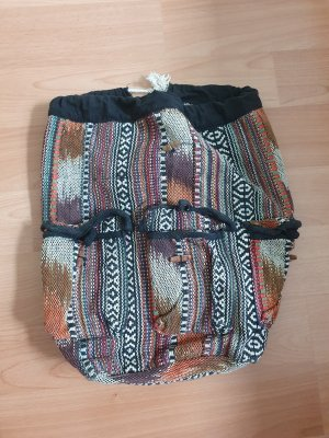 Mini Backpack multicolored cotton