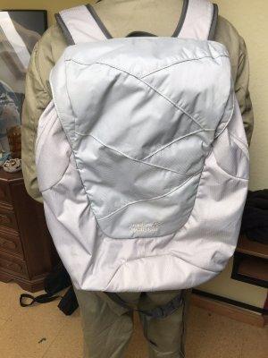 Jack Wolfskin Sac à dos pour ordinateur portable blanc-gris clair