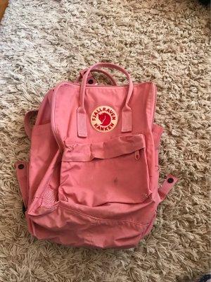 Fjällräven Kanken Zaino per la scuola rosa