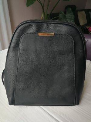 Backpack Trolley black imitation leather