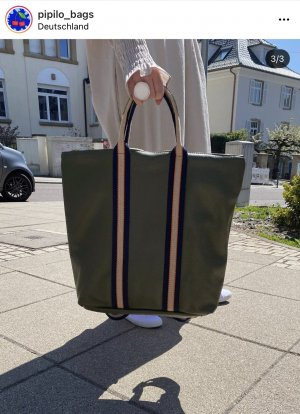 Borse in Pelle Laptop Backpack olive green