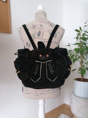 Ohne Tradycyjna torebka czarno-brązowy-w kolorze białej wełny