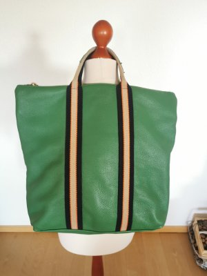 Borse in Pelle Italy Laptop Backpack green leather