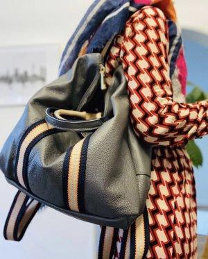 Borse in Pelle Sac à dos pour ordinateur portable gris anthracite