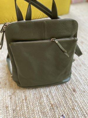 Borse in Pelle Italy Laptop Backpack khaki