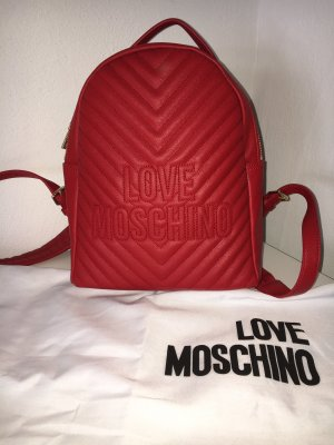 Love Moschino Trekking Backpack red