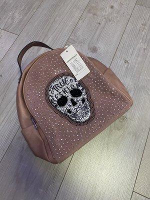 0039 Italy Plecak w kolorze różowego złota