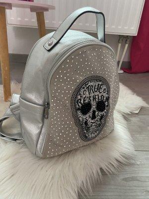0039 Italy Plecak srebrny