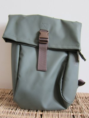Bree School Backpack forest green polyester