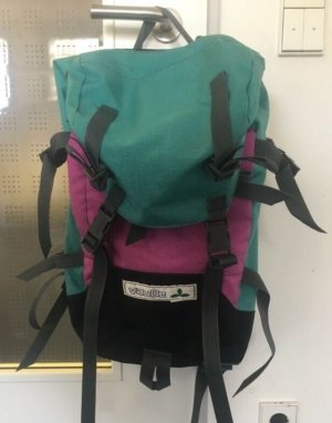Vaude Sac à dos de randonnée turquoise-bleu violet