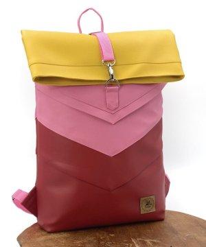 Peak - Fine - Design Rolltop Backpack multicolored