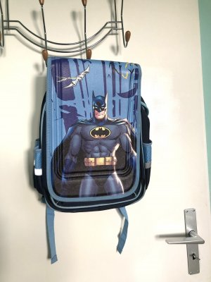 Mini sac à dos bleu