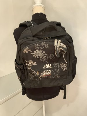 4YOU School Backpack black