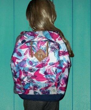 Buff Plecak szkolny Wielokolorowy Tkanina z mieszanych włókien