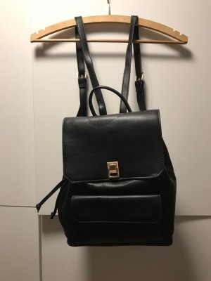 Mango Laptop Backpack black