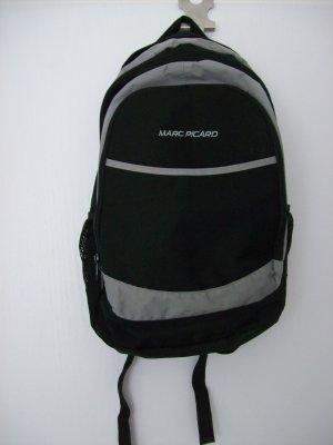 Marc Picard Trekking Backpack black-grey polyester