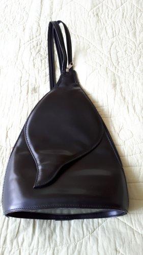 Rucksack, schwarz, schick