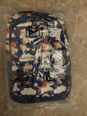 Mini sac à dos bleu foncé