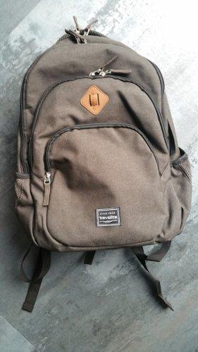 Travelite Plecak na notebooka czarno-brązowy