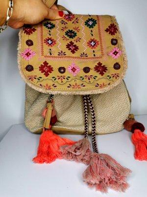 Rucksack Umwandelbar in Handtasche hippie Boho