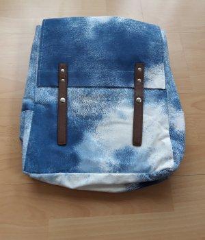 Schoolrugzak blauw-azuur