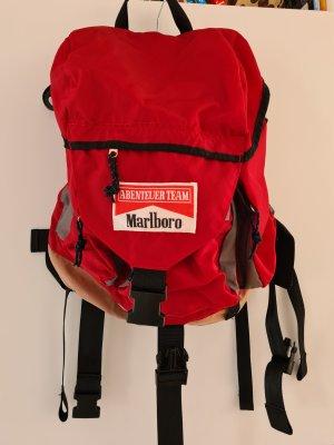 Marlboro Sac à dos de randonnée rouge brique nylon