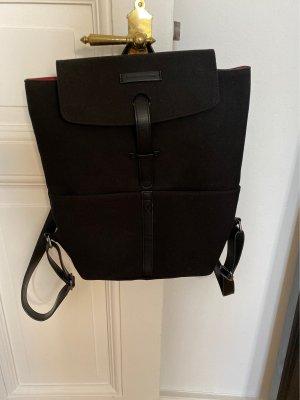 Kapten & Son Laptop Backpack black-red