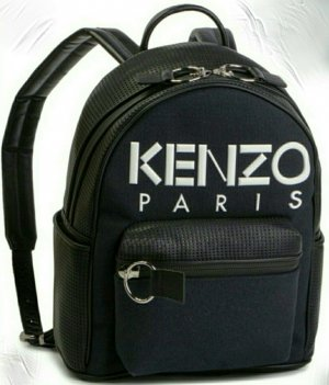 Kenzo Backpack Trolley black
