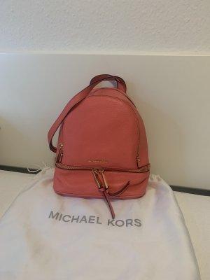 Michael Kors Sac à dos mini saumon-rouge framboise