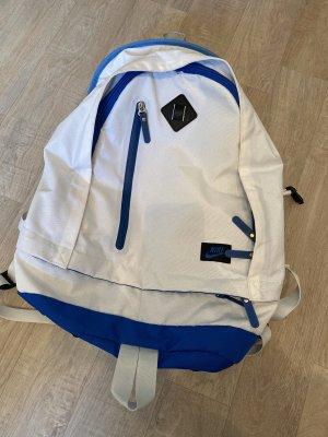 Nike Mochila para portátiles blanco-azul