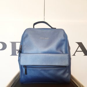 Pierre Cardin Laptop Backpack multicolored imitation leather