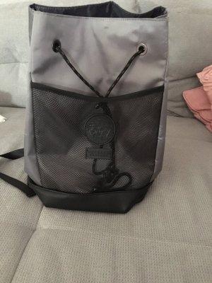 Versace Zaino da trekking nero-grigio